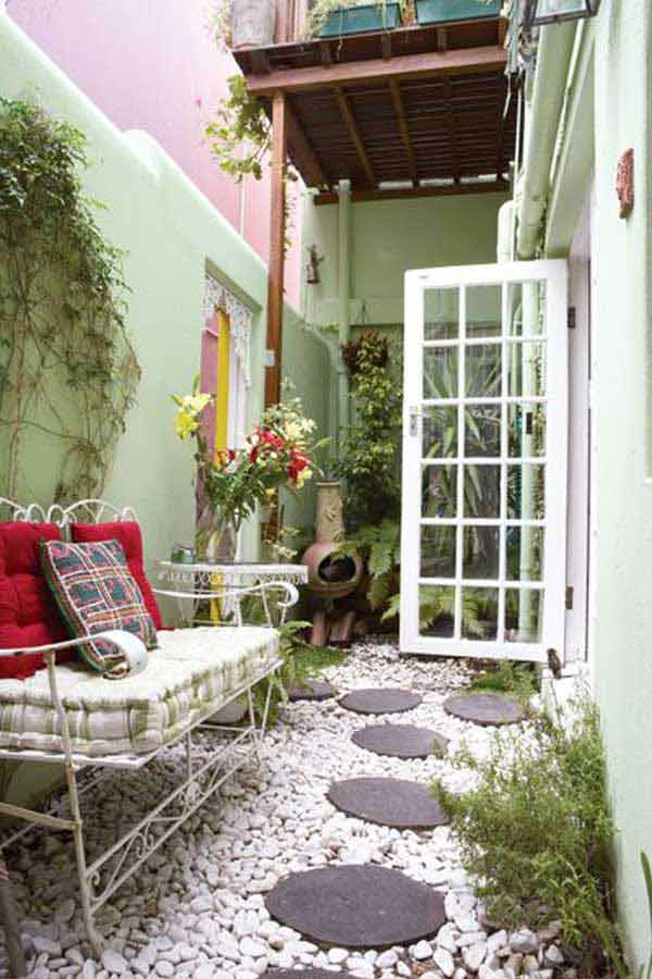 Narrow Patio Ideas Home Decorating Ideas Interior Design