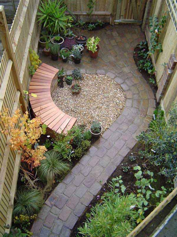 Garden Ideas For Narrow Spaces small yards big designs diy after cottage garden Narrow Space Designs Woohome 15