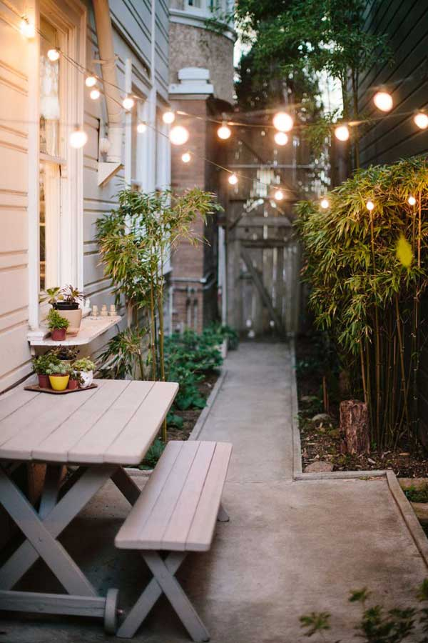 Garden Ideas For Narrow Spaces 15 ideas for making the most out of your small garden Narrow Space Designs Woohome 4