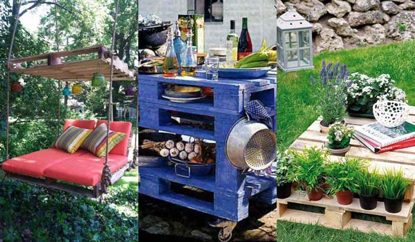 diy pallet outdoor furniture