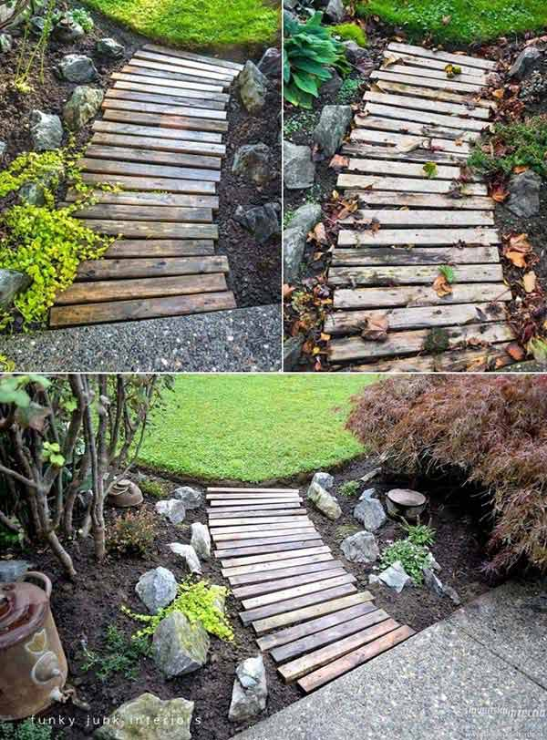 Top 38 genius diy outdoor pallet furniture designs that for 38 garden design ideas