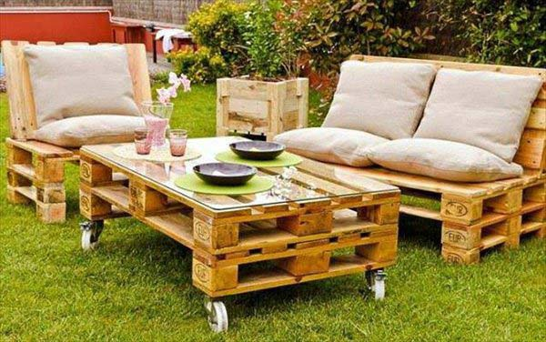 Top Genius Diy Outdoor Pallet Furniture Designs That Will Amaze You