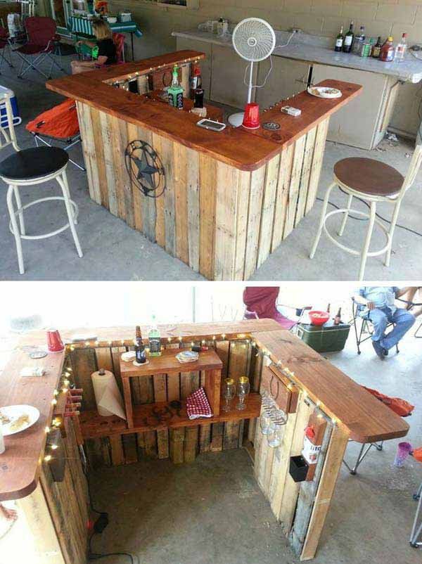 outdoor pallet furniture woohome 7. Top 38 Genius DIY Outdoor Pallet Furniture Designs That Will Amaze