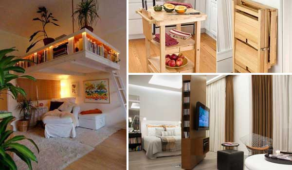 Superb 24 Insanely Clever Space Saving Interiors Will Amaze You Largest Home Design Picture Inspirations Pitcheantrous