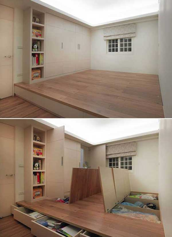 Pleasant 24 Insanely Clever Space Saving Interiors Will Amaze You Largest Home Design Picture Inspirations Pitcheantrous