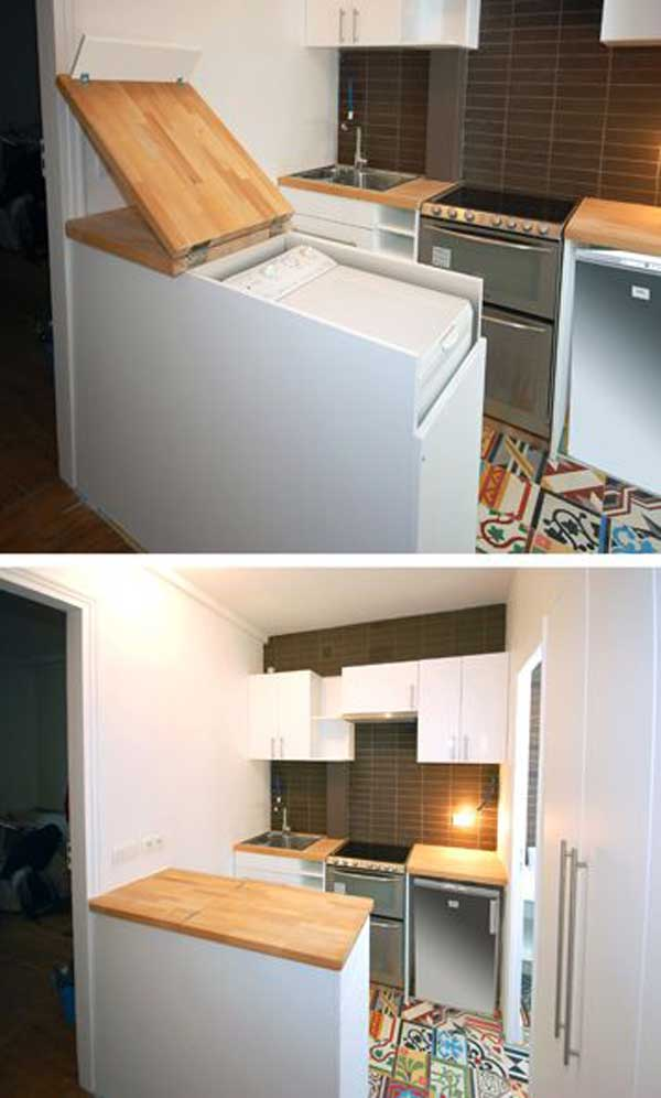 24 Insanely Clever Space Saving Interiors Will Amaze You Amazing Diy Interior Home Design