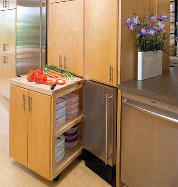 24 insanely clever space saving interiors will amaze you - Space saving cabinet ideas ...