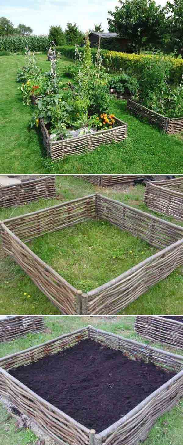 Garden Bed Edging Ideas Woohome 21