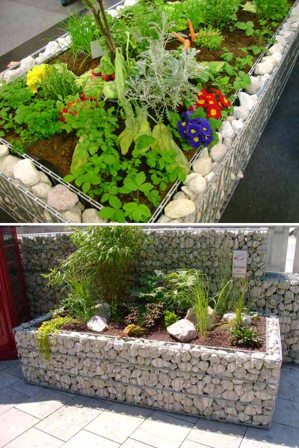 Top 28 Surprisingly Awesome Garden Bed Edging Ideas ... on Backyard Border Ideas id=45432