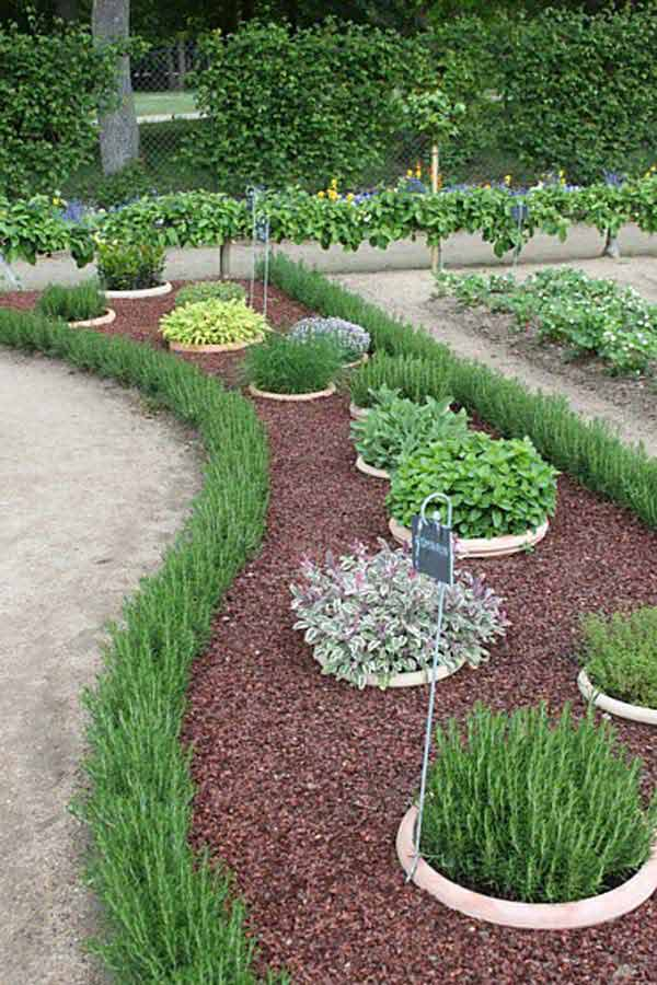 Top 28 Surprisingly Awesome Garden Bed Edging Ideas ... on Backyard Border Ideas id=47758