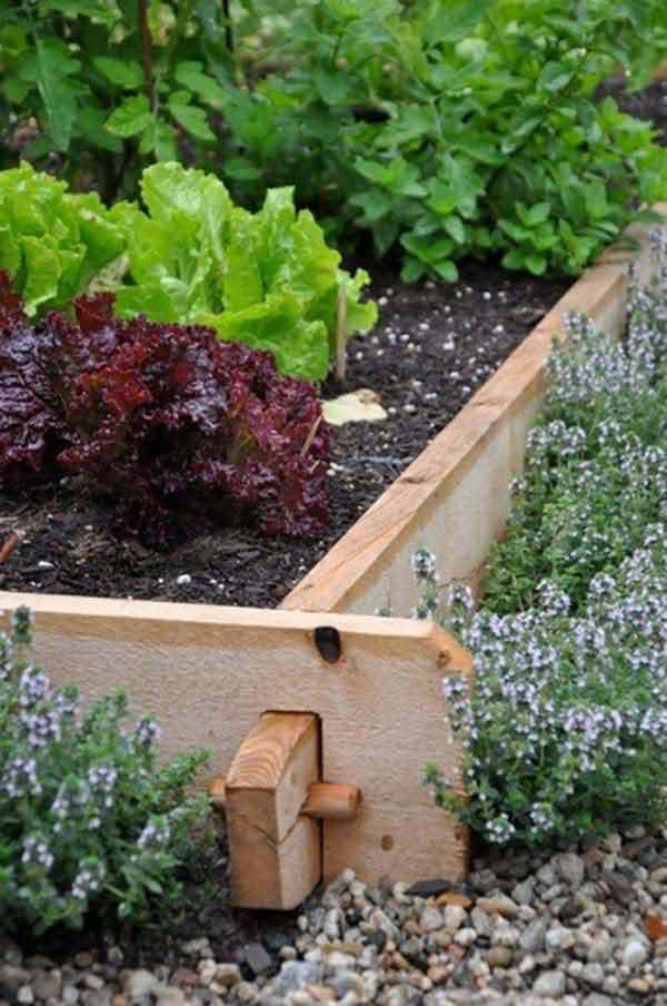 Garden Bed Edging Ideas Woohome 28