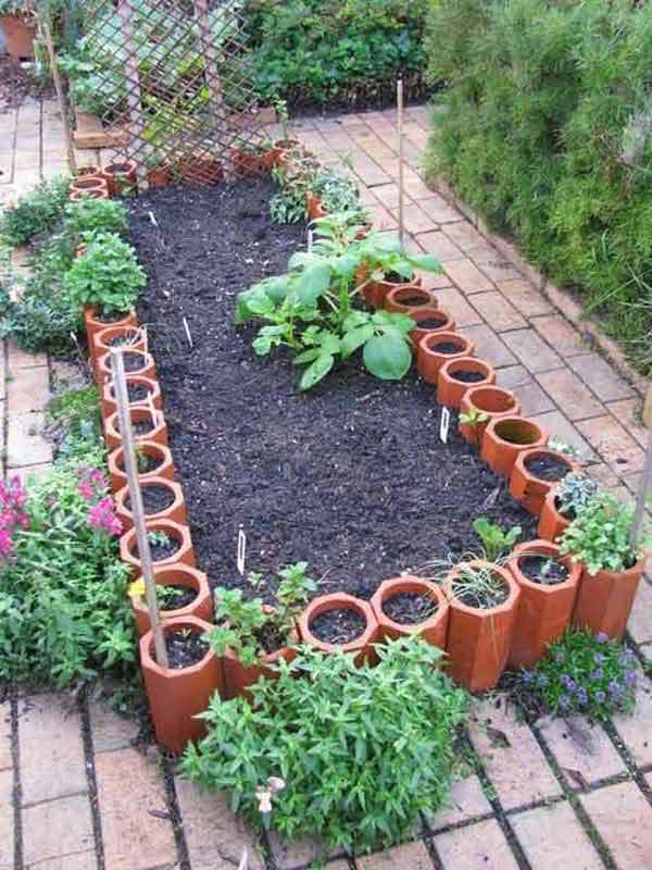 Top Surprisingly Awesome Garden Bed Edging Ideas