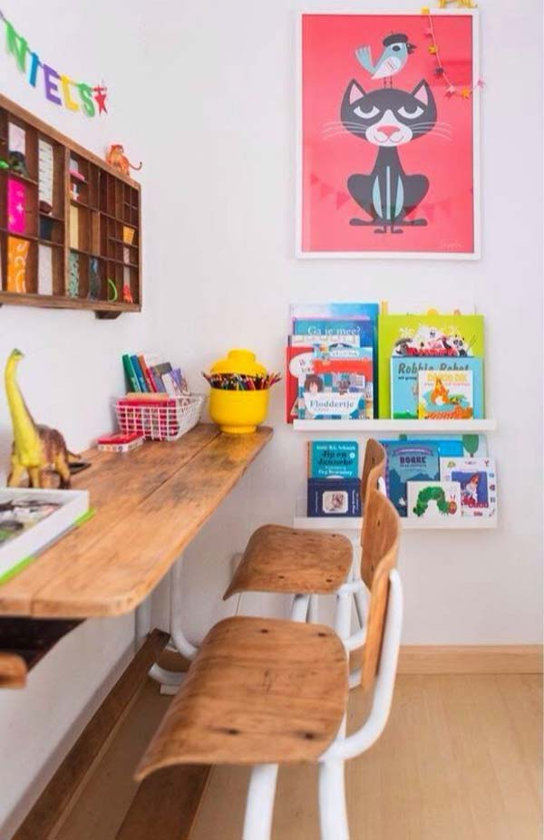 24 Adorable And Practica Homework Station Ideas That Your Kids Will Love Amazing Diy Interior