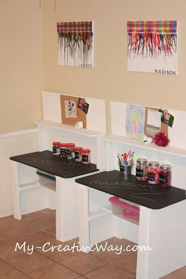 Desk Repurpose Ideas
