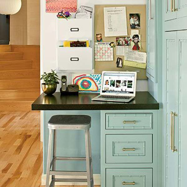 24 adorable and practica homework station ideas that your kids will