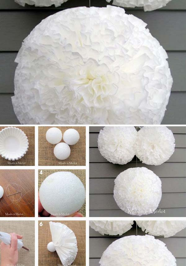 diy pom pom decorations - Diy Decorating