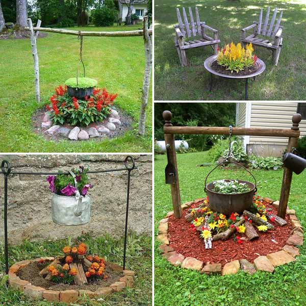 30 Unique Garden Design Ideas: Top 32 DIY Fun Landscaping Ideas For Your Dream Backyard