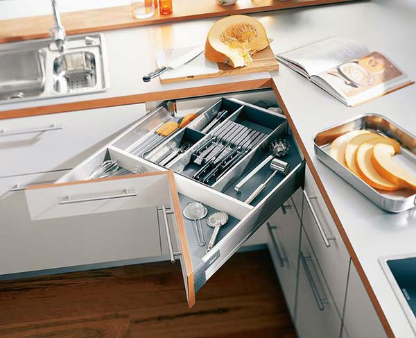 top 27 clever and cute diy cutlery storage solutions - amazing diy Cute Storage Ideas