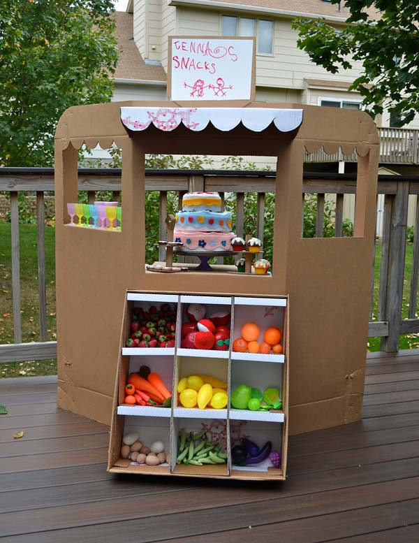 27 diy kids games and activities can make with cardboard