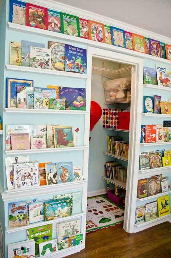 Captivating Kids Room Organization Ideas 19