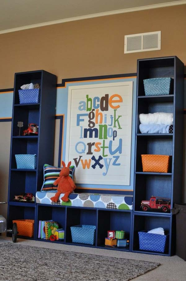 28 Genius Ideas And Hacks To Organize Your Childs Roomkids Room Organization 24