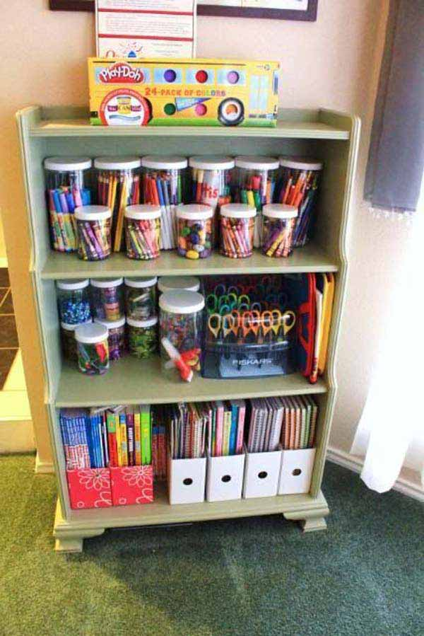 Kids Room Organization Ideas 7