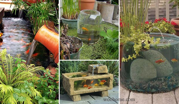 22 Small Garden Or Backyard Aquarium Ideas Will Your Mind