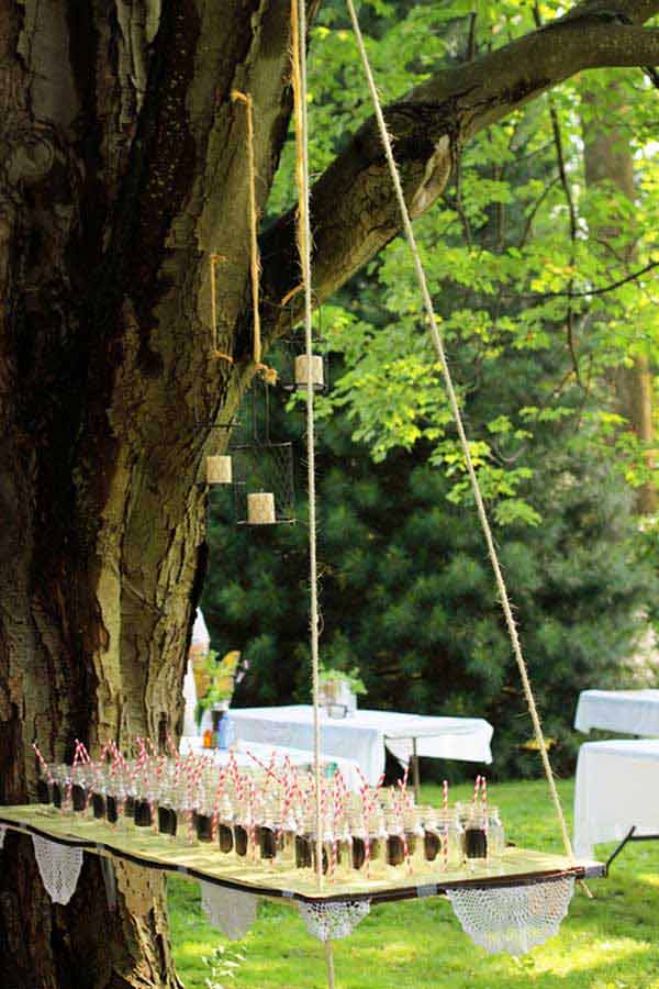 20 attractive and unique outdoor wedding bar ideas amazing diy outdoor wedding bar woohome 4 junglespirit Image collections