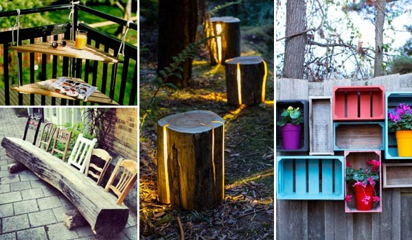 27 DIY Reclaimed Wood Projects For Your Homes Outdoor - Amazing DIY Interior U0026 Home Design