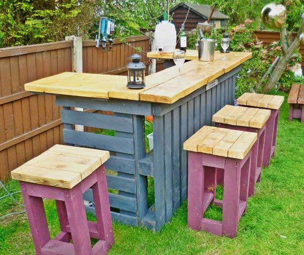 27 diy reclaimed wood projects for your homes outdoor for Outdoor wood projects ideas