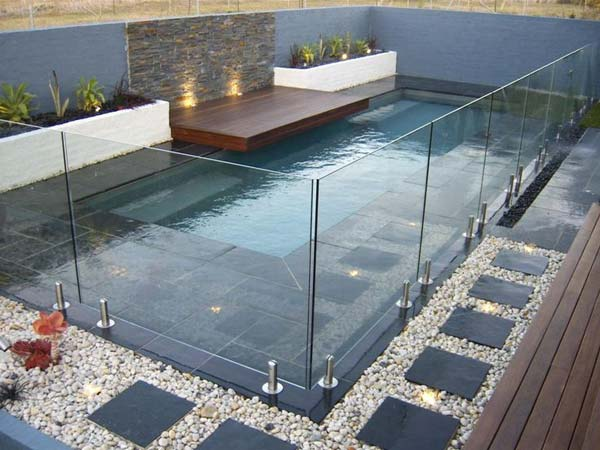 Small-Backyard-Pool-Woohome-1 - 28 Fabulous Small Backyard Designs With Swimming Pool - Amazing DIY
