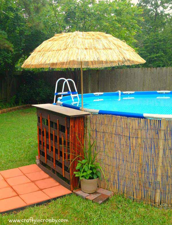 Fabulous Small Backyard Designs With Swimming Pool Amazing - Backyard above ground pool ideas