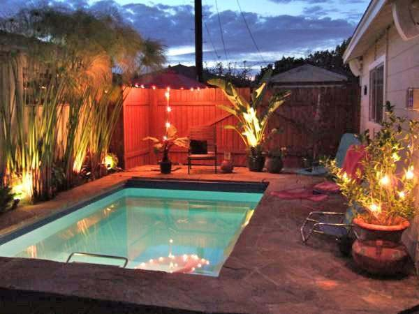 28 fabulous small backyard designs with swimming pool for Pool design brisbane