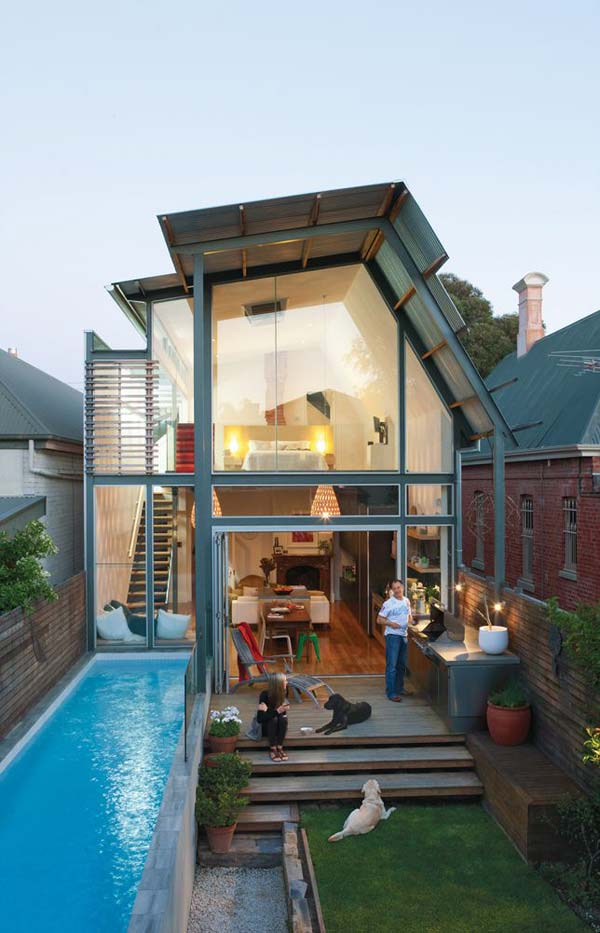 Charming Small Backyard Pool Woohome 17