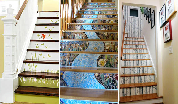 Stair Risers Decor Woohome 0