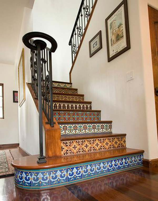Stair Risers Decor Woohome 19