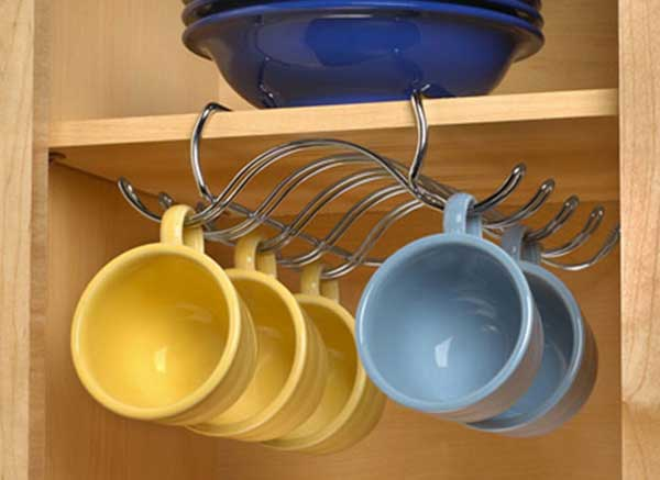 30 fun and practical diy coffee mugs storage ideas for for Mug racks ideas