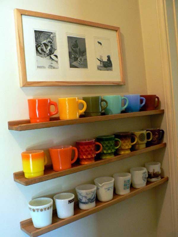 Coffee Mug Storage Ideas Woohome 23