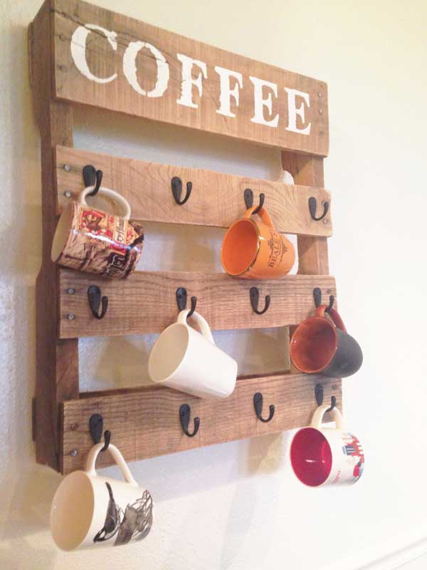Coffee Mug Storage Ideas Woohome 3