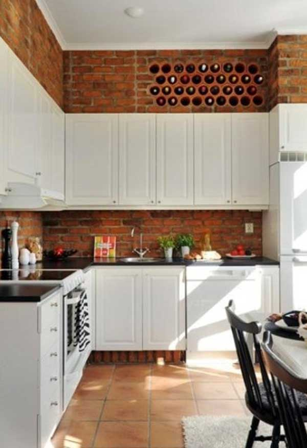 24 must see decor ideas to make your kitchen wall looks for Terracotta kitchen ideas