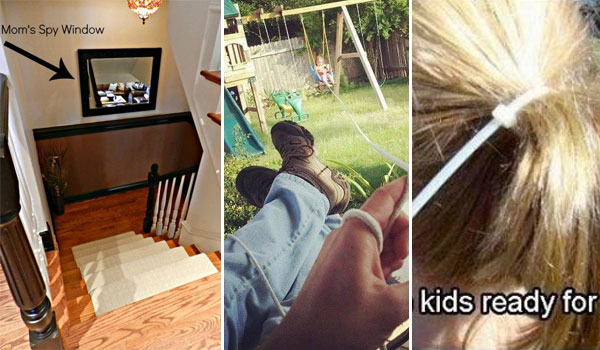 17 Little but Clever Parenting Hacks For Lazy Parents