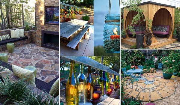 31 Insanely Cool Ideas to Upgrade Your Patio This Summer ... on Cool Patio Ideas id=44230