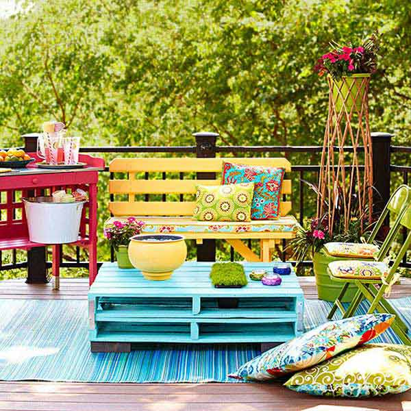 31 Insanely Cool Ideas to Upgrade Your Patio This Summer ... on Cool Patio Ideas id=29560