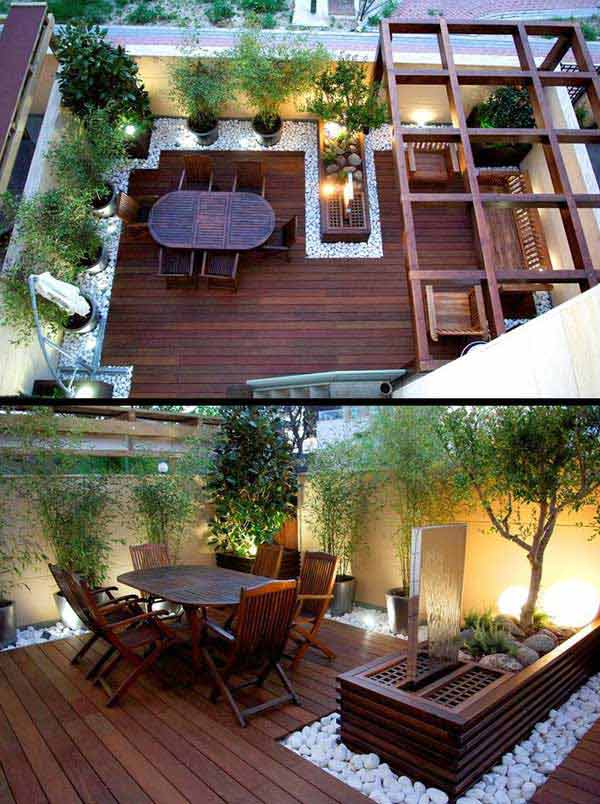 31 Insanely Cool Ideas to Upgrade Your Patio This Summer ... on Cool Patio Ideas id=38021