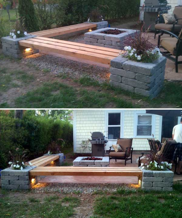 31 Insanely Cool Ideas to Upgrade Your Patio This Summer ... on Diy Backyard Deck Ideas id=51851