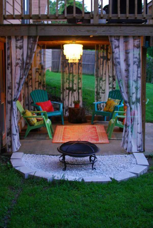 31 Insanely Cool Ideas to Upgrade Your Patio This Summer ... on Cool Patio Ideas id=28557