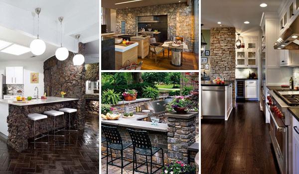 22 Stunning Stone Kitchen Ideas Bring Natural Feel Into Modern Homes Amazing Diy Interior Home Design