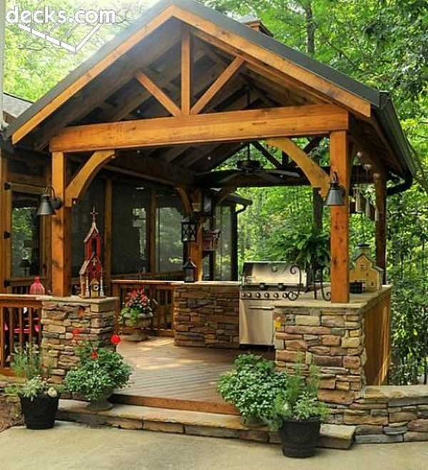 7 Amazing Houses Built Into Nature: 22 Stunning Stone Kitchen Ideas Bring Natural Feel Into