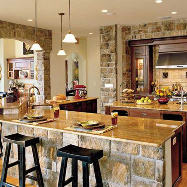 22 Stunning Stone Kitchen Ideas Bring Natural Feel Into ... on natural business ideas, natural home ideas, natural kitchen backsplash, natural breakfast ideas, natural gardening ideas, natural living ideas, natural recipes, natural kitchen decorating, natural kitchen cabinets, natural jewelry ideas, natural nursery ideas, natural before and after, natural plumbing ideas, natural cleaning ideas, natural landscape ideas, natural christmas ideas, natural kitchen tools, natural beauty ideas, natural bedroom ideas, natural kitchen inspiration,