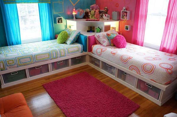 21 brilliant ideas for boy and girl shared bedroom for Boy and girl bedroom designs